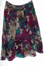 FORAL  PRINT SKIRT BY KALEIDOSCOPE SZE 10,12,14,16, 18 and  20  RRP£45 CLEARANCE