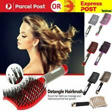 Detangling Nylon Bristle Brush Detangle Hairbrush Women Hair Scalp Massage Combs