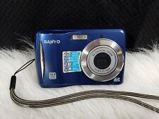 Sanyo VPC-S1080 10MP Digital Camera - Blue
