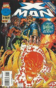 X-Man Comic 17 Cover A First Print 1996 Terry Kavanagh Larosa Hunter Skroce