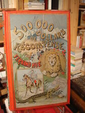 Fernand HUE [illus. G. Baer] 500 000 dollars de récompense 1892