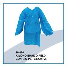 KIMONO MONOUSO PELD BIANCO - CONFEZIONE DA 20 PZ. MADE IN ITALY