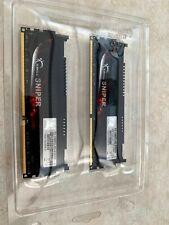 G.SKILL Sniper 8GB (2x4GB) PC3-12800 DDR3-1600MHz F3-12800CL9D-8GBSR