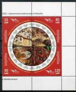 Albanian 2020, Traditional gastronomi-MNH