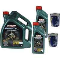 7L Olio Motore Castrol Magnatec Stop-Start 5W-30 C2 2xMotor Doctor