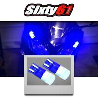 Triumph Motorcycle LED Side Marker Light Parking Bulbs in Blue