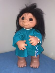 Dam Troll Livvy 806 With Tag 17 Inches Old Store Stock Vintage