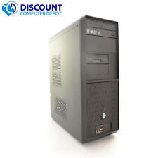 Fast Windows 10 Desktop Computer PC Tower Dual Core 4GB RAM 500GB HDD