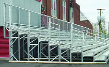 10 Row Deluxe Aluminum Bleachers Soccer - Football