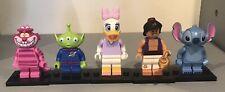Lego Series 1 Disney minifigure bundle Aladdin Daisy Duck Cheshire Cat etc