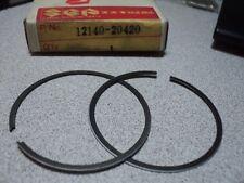 1982 SUZUKI RM80 RM 80 PISTON RINGS RING STANDARD NOS OEM P/N 12140-20420