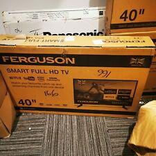 "FERGUSON 40"" INCH FULL HD LED TV FREEVIEW HD, 3 x HDMI & USB smart"