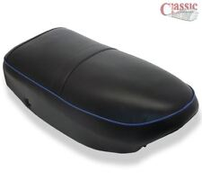AJS Singles and Twins 1956-60 Motorcycle Seat Blue Piping