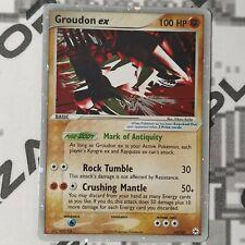 Pokemon Card 93/101 GROUDON EX [ Hidden Legends ] ENGLISH NO Full Art