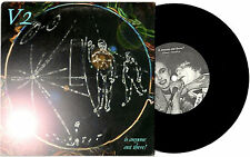 """V2 - IS ANYONE OUT THERE? - RARE EP 7"""" 45 VINYL RECORD PIC SLV 1998"""