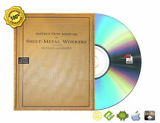 Instruction Manual for Sheet-metal workers Book On CD