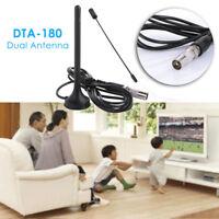 30dBi Interior Potencia Digital Dvb-T / Fm Tdt Antena Aérea PC For TV HDTV Hot