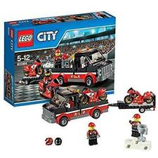 LEGO 60084 City Great Vehicles Racing Bike Transporter Playset