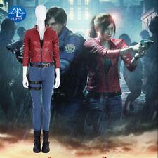 BIOHAZARD RE:2 Resident Evil 2 Claire Redfield Cosplay Costume Halloween Prop