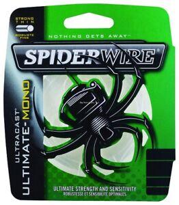 Spiderwire SCUMFS10-15 Ultracast Ultimate Mono Line 10lb 300yd Filler Spool Clea