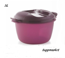 TUPPERWARE Microwave 3L Rice Maker Cooker Steamer SEE MOVIE