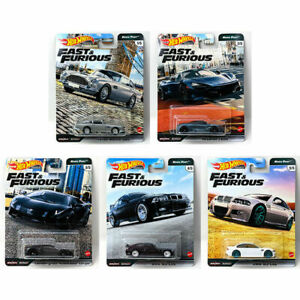 HOTWHEELS  FAST & FURIOUS EURO FAST FULL SET OF 5 ALLOYS  RUBBER TYRES ,,,