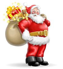 Christmas Holiday Decoration Santa Claus Ho Ho Jolly St Nick  Fridge Magnet #5