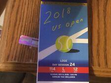 2018 Us Open Tennis Men's Final Mint Ticket Stub Djokovic