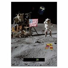 Large A5 - Easy Read - Wide Range - Wall & Room Thermometer - Doctor on the Moon