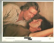 Under Fire-Color-Nick Nolte-Joanna Cassidy-Lobby Card-11x14