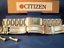 Citizen Watch Band Promaster Bracelet 20mm Steel SilverTone w/Quik Length Extend