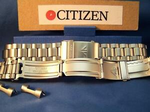 Citizen Watch Band Promaster Bracelet 20mm Steel SilverTone w/Quik Length Extend