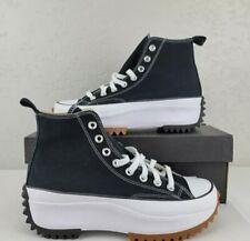 Converse Women Unisex Run Star Hike Hi 166800C Black White  Gum Shoes All SIZES