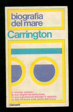 CARRINGTON RICHARD BIOGRAFIA DEL MARE GARZANTI 1971