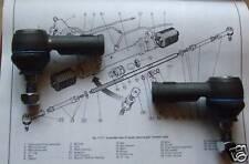 Paire JAGUAR E-Type 3.8,4.2 Séries 1 et 2 61-71 EMBOUTS BIELLETTE DE DIRECTION