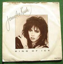 "Jennifer Rush Ring of Ice CBS A4745 7"" Single"