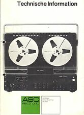 ASC Service Manual für AS 5000  in deutsch Copy