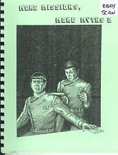 Star Trek Fanzine MORE MISSIONS, MORE MYTHS #2