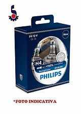 COPPIA LAMPADINE H4 PHILIPS 12342RVS2 55W RACING VISION +150%