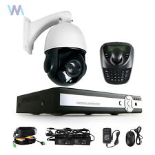 Sony CCD 30X Zoom 1200TVL Outdoor PTZ Speed Dome Camera CCTV Security Cam +DVR