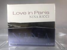 Nina Ricci Love In Paris Eau De Parfum Spray 30ml/1oz Womens Perfume 💯% Genuin