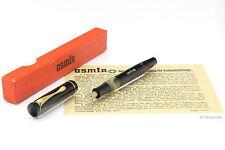 OSMIA no. 64 Fountain steel F nib Box Papers 1940 VINTAGE NOS!