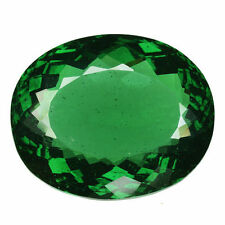 40.355CTS EXTRAORDINARY LUSTER GREEN NATURAL MOLDAVITE OVAL LOOSE GEMSTONES