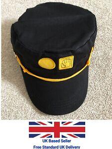 UK Seller JoJo Kujo Jotaro JOJO Hat Visored Props Peaked Caps Black