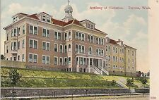 Academy of Visitation in Tacoma WA Postcard