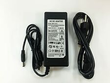 LCD AC Adapter 12V 10A with 3-Prong Power Cord Power Supply