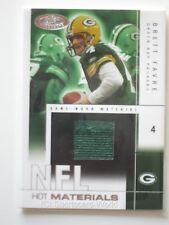BRETT FAVRE 2004 Fleer Hot Prospects JERSEY Card HMBF #457/500 GREEN BAY PACKERS