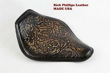Spring Solo Motorcycle Seat Sportster Chopper 1200 Harley Rich Phillips Leather