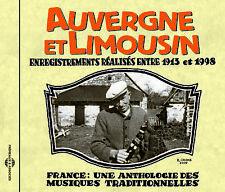 Anthologie- Auvergne Et Limousin 1913-1998, New Music