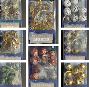 Various Battery Powered Fairy Lights Suitable for Home Decoration Weddings Party